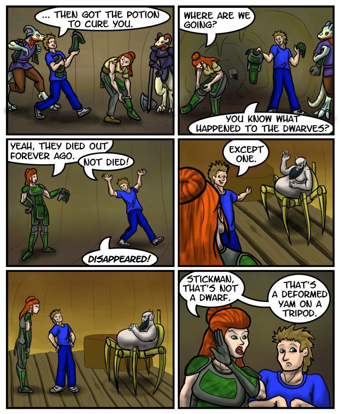 Morrowind Comic